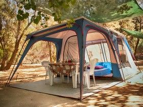 1tent 2 persons 20 euros per night!