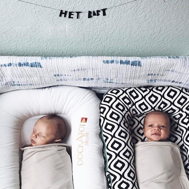 The DockATot cosleeper is a multi-functional all in one product that replaces most baby bassinets, cribs, and travel beds and helps babies and toddlers up to 36 months find a familiar and comfy place to sleep.