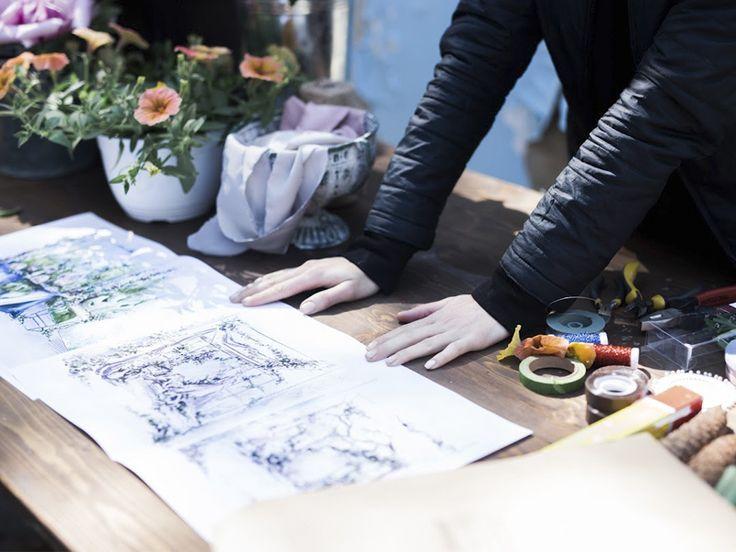 Практическое занятие Школы event дизайна Jennyart, 16 мая 2016, Харьков/school decor, wedding decor, wedding flowers, wedding workshop, wedding inspiration