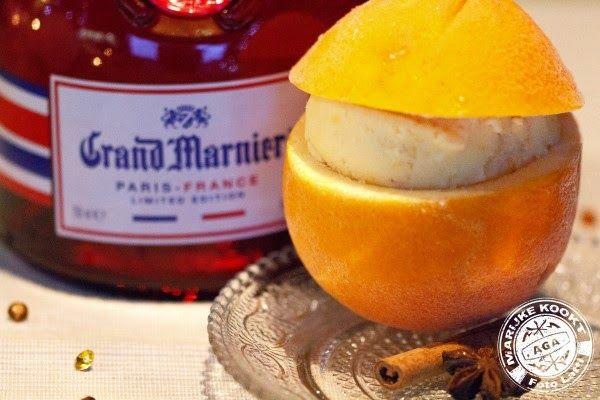 Marijke kookt: Sinaasappelijs met Grand Marnier