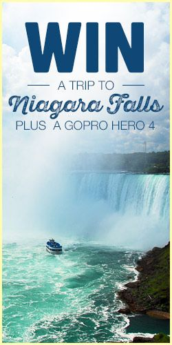 Win A Trip To Niagara Falls Plus a GoPro Hero 4