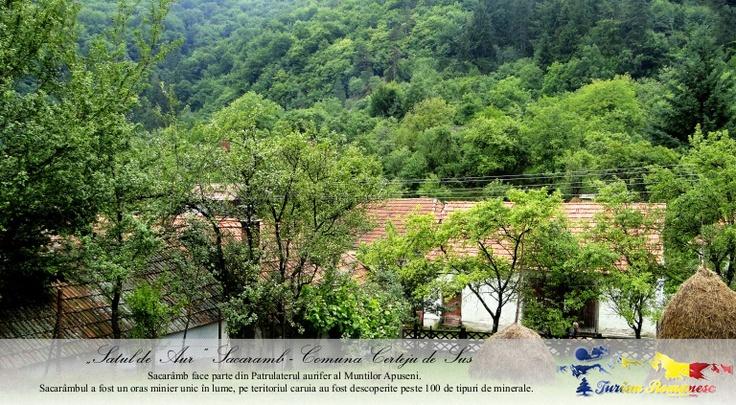 Satul Sacaramb, Comuna Certeju de Sus, Judet Hunedoara