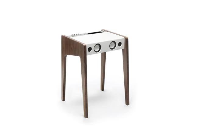 LD120 spécial édition- La boite Concept- une pure merveille entre l'alliance du bois du blanc et du chrome