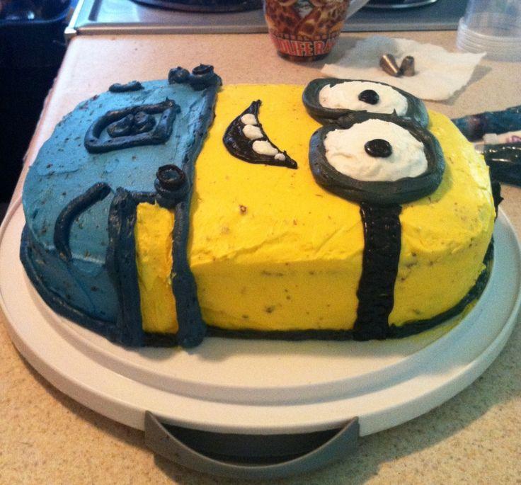 minion cake   Minion Cake!   S. Garriga's Blog