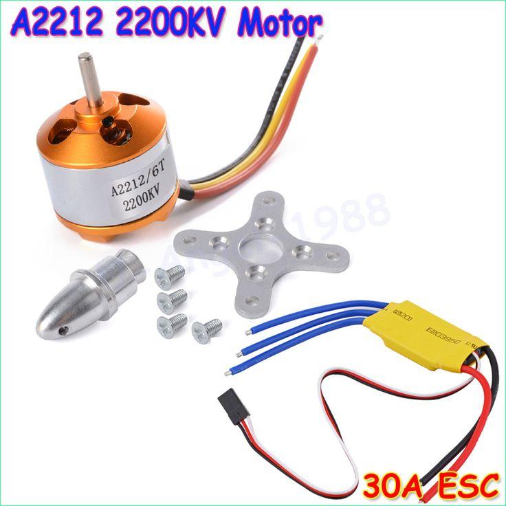 $9.83 (Buy here: https://alitems.com/g/1e8d114494ebda23ff8b16525dc3e8/?i=5&ulp=https%3A%2F%2Fwww.aliexpress.com%2Fitem%2FNew-RC-2200KV-Brushless-Motor-A2212-6T-ESC-30A-Brushless-Motor-Speed-Controller%2F444736745.html ) New RC 2200KV  Brushless Motor A2212-6T +  ESC 30A Brushless Motor Speed Controller for just $9.83
