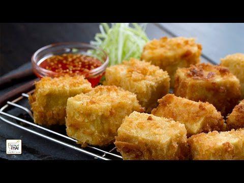 ▶ Tofu Frito con Salsa Agridulce de Pimiento rojo - Receta de Tofu ⎜Cocino Thai - YouTube  ¡¡¡OJO A LA SALSA AGRIDULCE, TIENE MUY BUENA PINTA PARA LOS ROLLITOS!!! (y me imagino que se conservará/congelará bien)