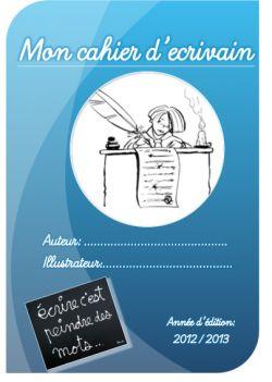 cahier d'ecrivain (intermediaire)