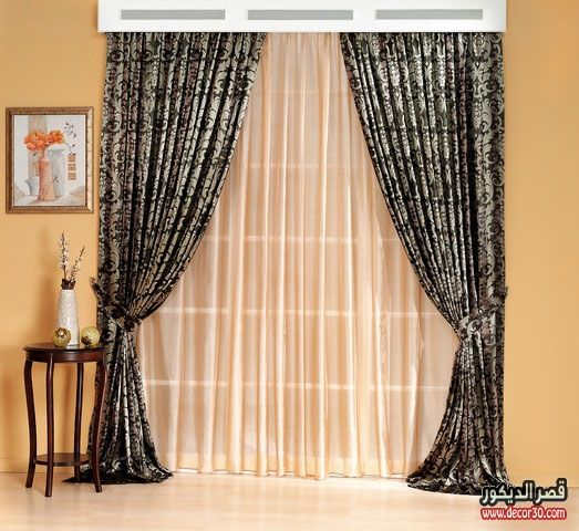 صور ستائر سيدار 2017 Cedar Curtains قصر الديكور Classic Dining Room Modern Curtains Holiday Room