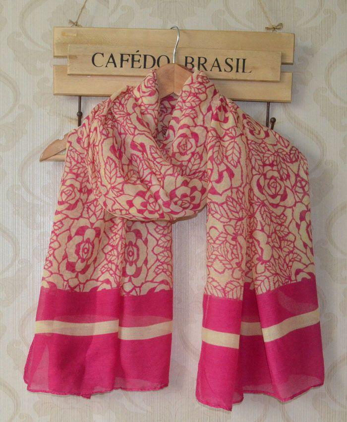 Дамы шарфы, Роза принт, Цветок принт, Мусульманский хиджаб, Цветочный хиджаб, Шали и шарфы, Вискоза шарф, Дизайнер шарф, Бандана