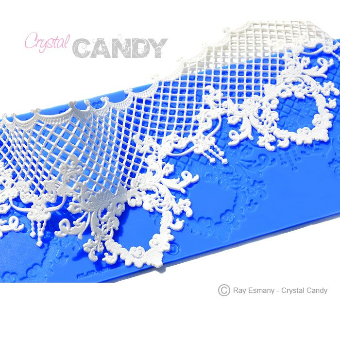 Beautiful and intricate CakeArt Gold silicion mat design: TRIUMPHAL