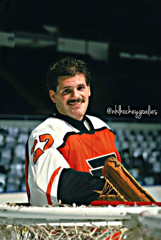 Ron Hextall - goalie for the Philadelphia Flyers #Flyers