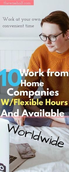 10 Companies that offer work at home jobs worldwide. – Missy Delmotte