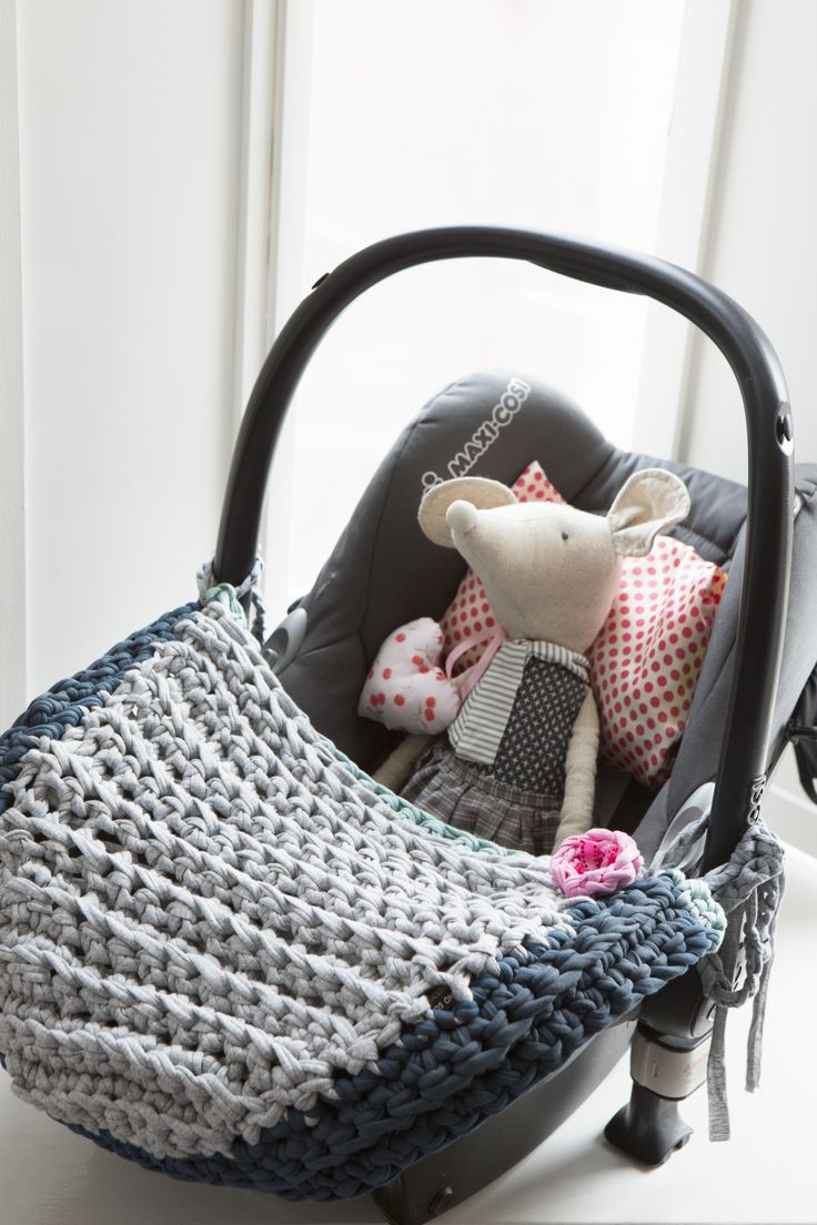 Cute baby seat cover