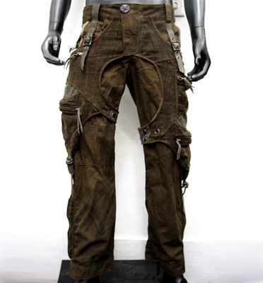 Tough, rugged, won't show stains well.  These are the zombie pants for me!!  14th Addiction: P-Cargo Full Length Pants