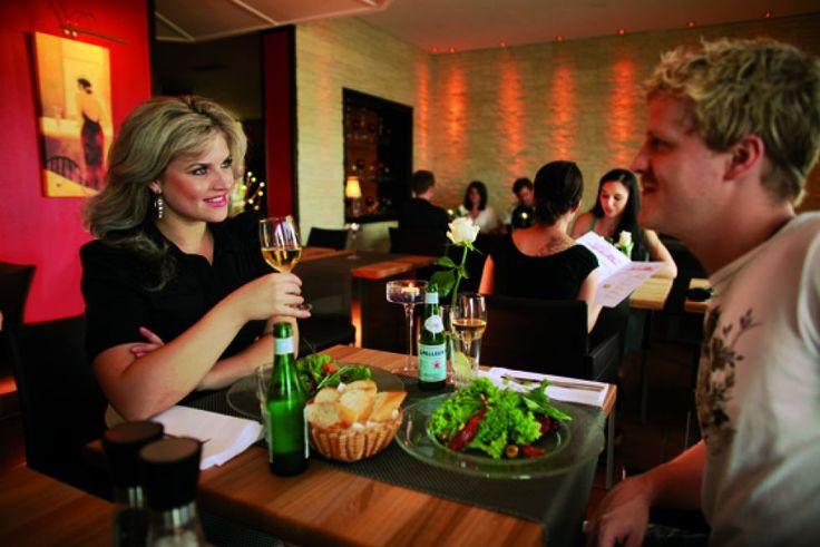 Essen im Vulcano Restaurant, Hotel Lindenhof Wittlich