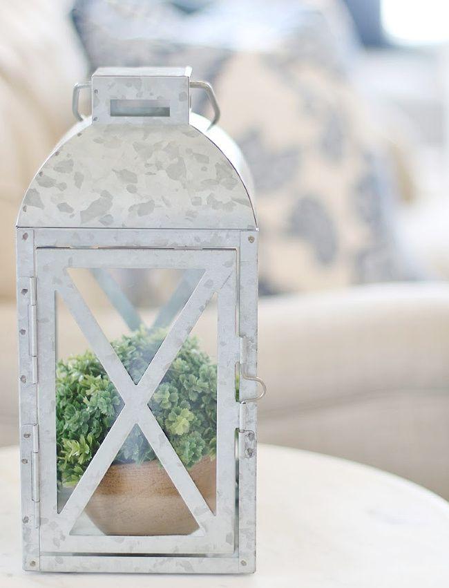 4 Ways To Decorate With Farmhouse Lanterns Thistlewood Farm Lantern Decor Living Lanterns Decor Latern Decor