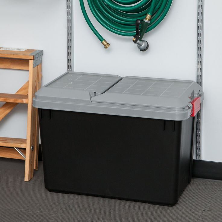Store-It-All Plastic Storage Totes