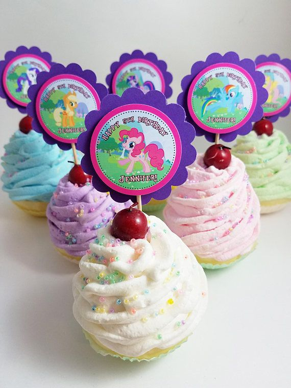 Personalized My Little Pony Movie 2 Scallop Mix n Match