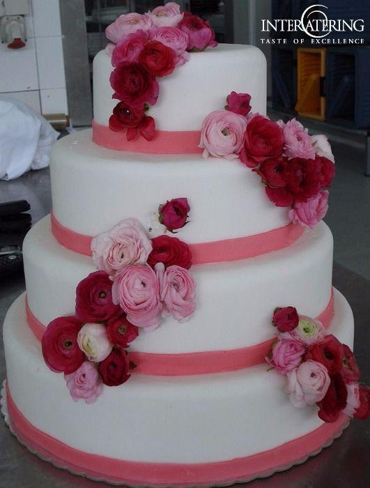 Φανταστικές τούρτες γάμου με την υπογραφή της Intercatering