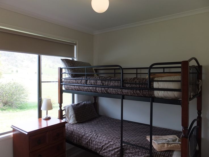 2nd bedroom with bunk bed for the kids