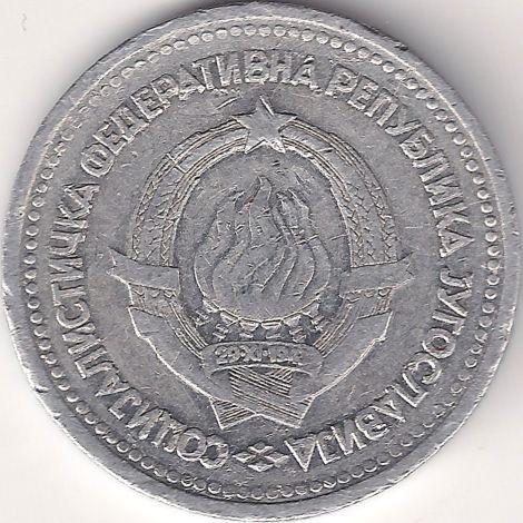 Motivseite: Münze-Europa-Südosteuropa-Jugoslawien-Dinar-1.00-1963