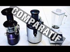 EP 162 – Comparatif Extracteur de jus, centrifugeuse, mixeur - Comment choisir ?
