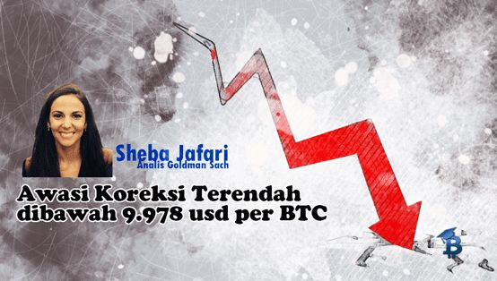 Sheba Jafari Tentang Titik Koreksi Terendah Harga Pasar Bitcoin