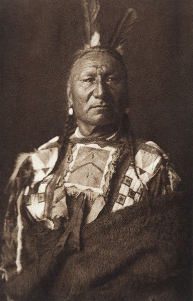Yellow Horse - Yanktonai  (The North American Indian, v. III. Cambridge, MA: The University Press, 1908)