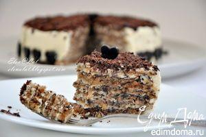 Итальянский ореховый торт, Italian nut cake