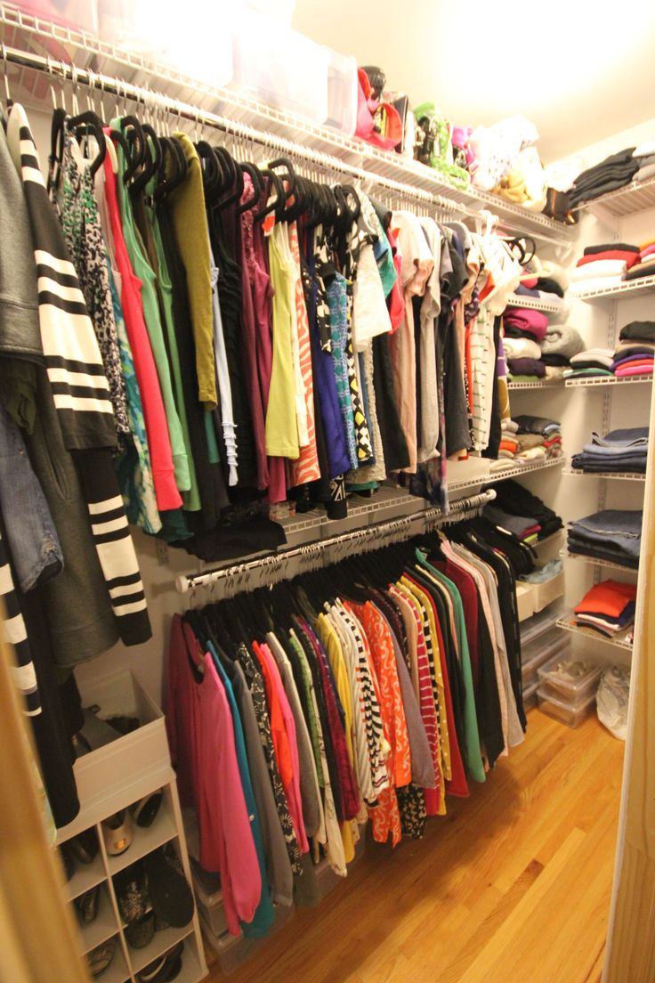Do It Yourself Home Design: Her's Master Walk-In Closet