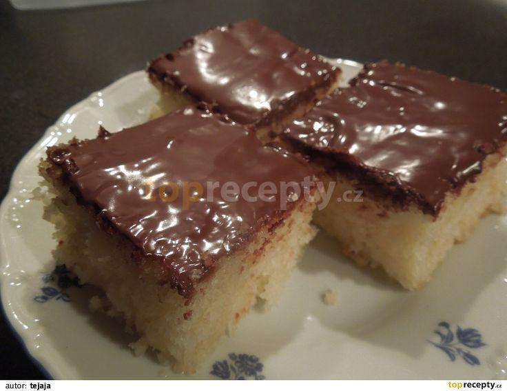 Rychlý kokosový koláč recept - TopRecepty.cz