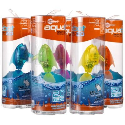 Hexbug aquabot led fish stockings christmas stockings for Aquabot smart fish