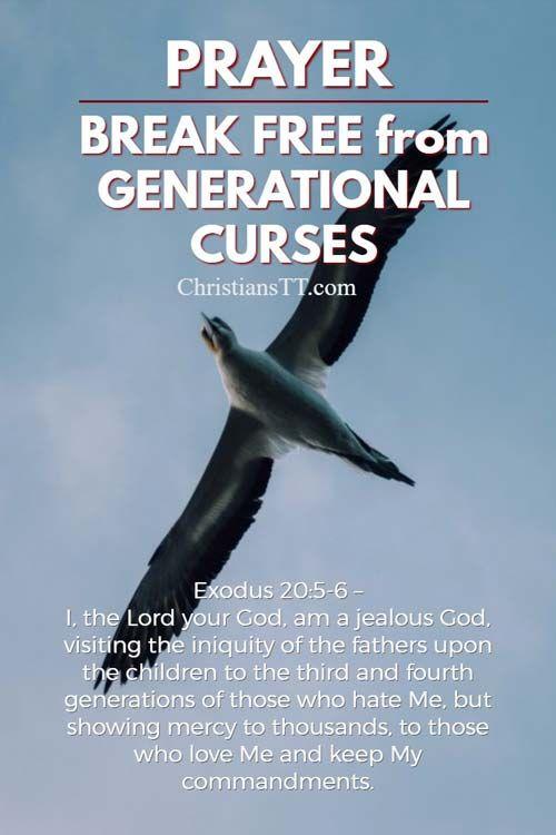 Prayer: Break Free from Generational Curses | Us | Prayer for family