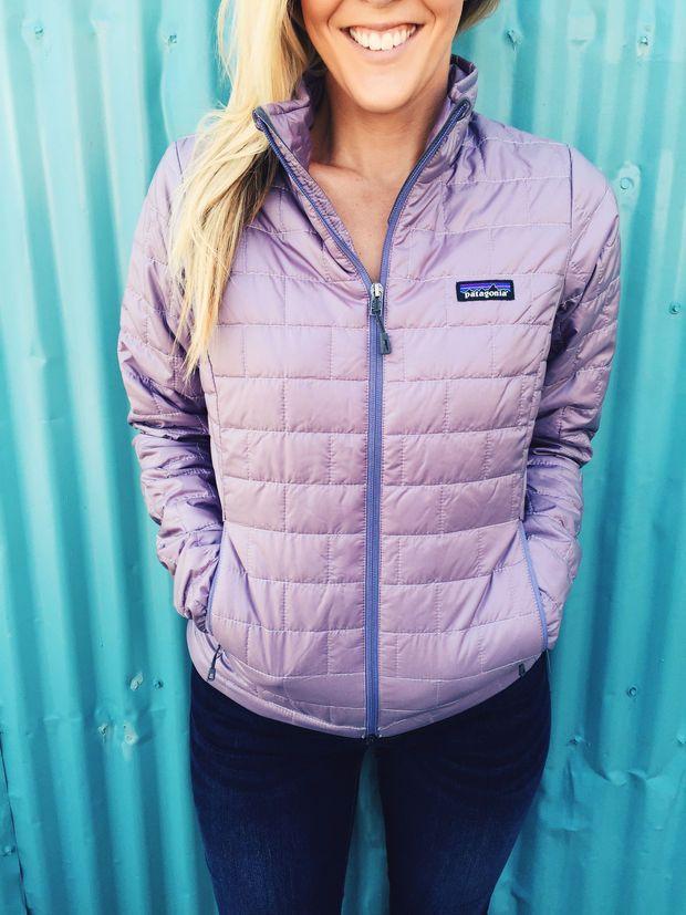 Patagonia Women's Nano Puff Jacket-Rustic Purple