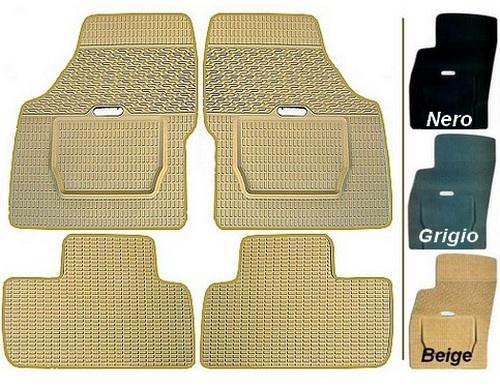 Land Rover - Tappeti in gomma su misura - 3 colori a scelta