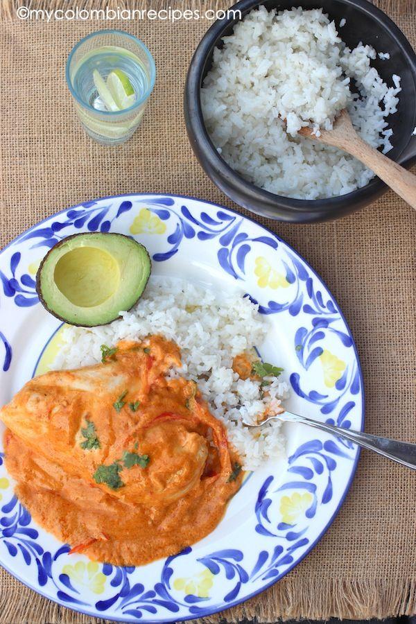 Pollo con Leche de Coco Colombiano (Chicken with Coconut Milk)