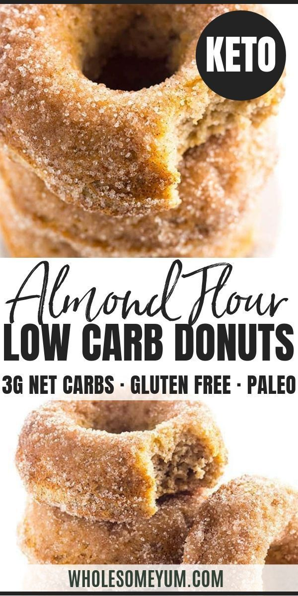 Low Carb Donuts Recipe – Almond Flour Keto Donuts …