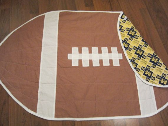U of M Football blanket by GPsPlace on Etsy