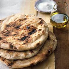 Grilled Flatbread - Lepinja (Bosnian pita recipe)