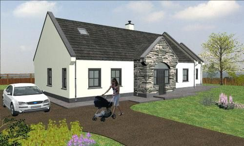 Open Plan House Designs Ireland Fascinating House Plans In Pictures