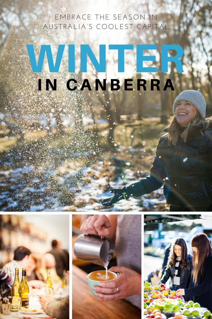 Experience the beauty and charm of Canberra this winter. It might be cold outside but more often than not Canberra winter days are warmed with our trademark big, bright blue sky. Embrace winter with a wonderful array of warming events, frosty fun activities and indulgent dining. #visitcanberra #seeaustralia