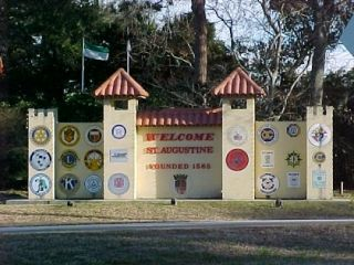 St augustine florida city gate