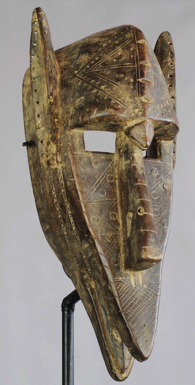 Superbe masque hyène Bamana Bambara Mali zzomorphe zoomorphic mask hyena | eBay