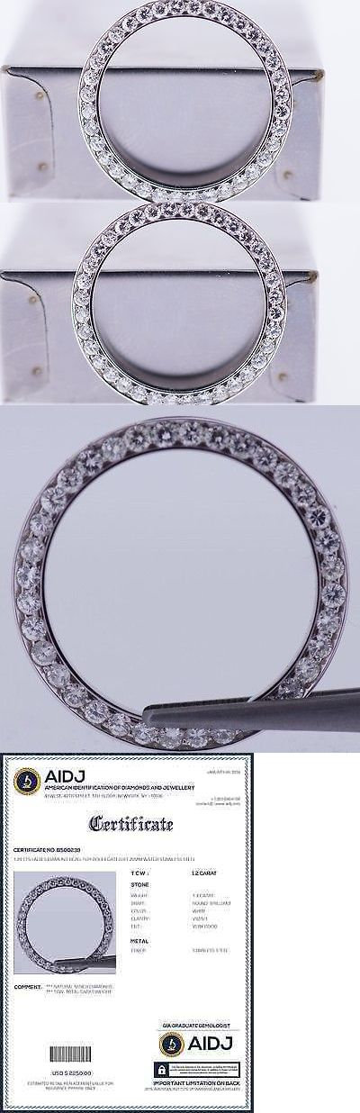Bezels and Inserts 57714: 1.20 Cts Ladies Diamond Bezel For Rolex Datejust 26Mm Watch Stainless Steel BUY IT NOW ONLY: $749.0