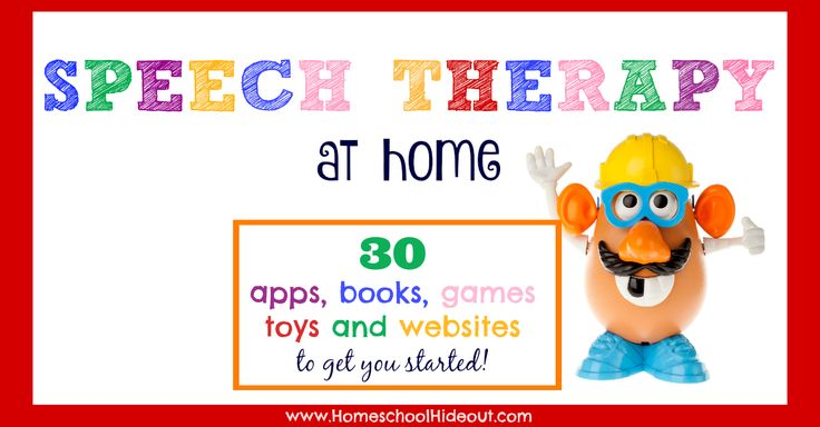 Speech therapy at home doesn't have to be hard. With easy access to websites, games, books, apps and toys, even the weary can do it!