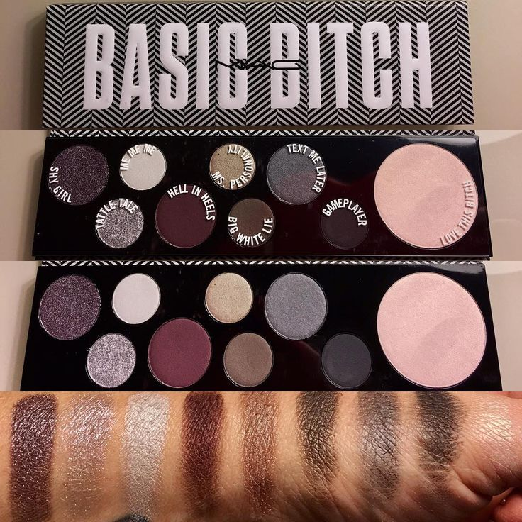 MAC Cosmetics has a Basic Bitch Palette that you are going to want to add to your makeup routine.
