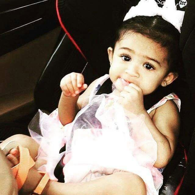 Royalty Chris Brown daughter