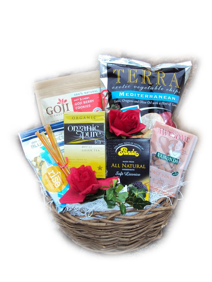 Well Baskets. A whole website that is all HEALTHY gift baskets. Have to say, this is pretty cool.