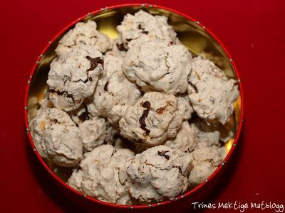 Marengs med sjokolade og mandler – TRINES MATBLOGG