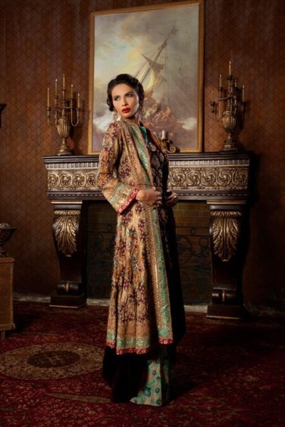 Designer: Kamiar Rokni  Model: Neha Ahmed  Photography: Maram and Aabroo